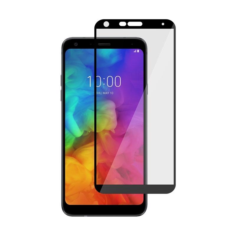Ochranné sklo na LG Q7 čierne