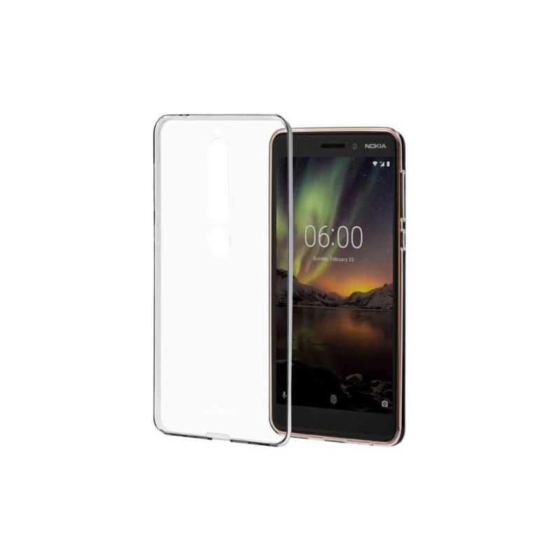 Priehľadný kryt na Nokia 6.1