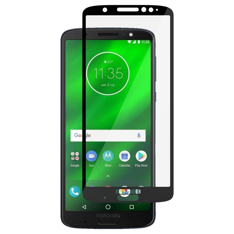Ochranní sklo pro Lenovo Moto G6 Plus černé
