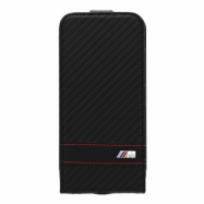 BMW diárové puzdro na Apple iPhone 6 4.7 carbon efekt