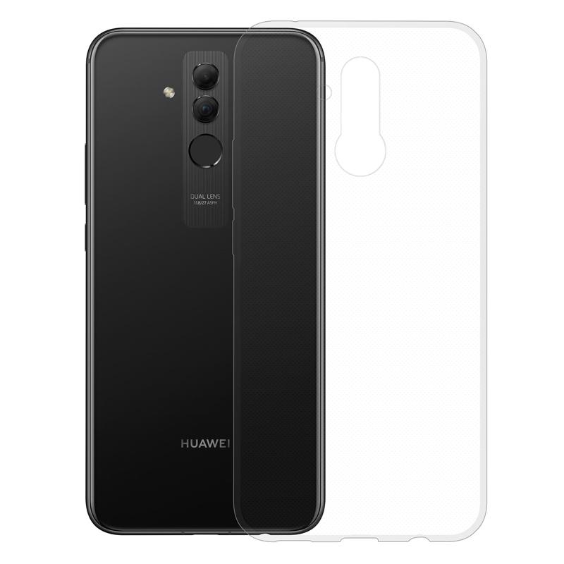 Gumové pouzdro pro Huawei Mate 20 Lite transparentní