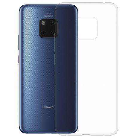 Gumové pouzdro pro Huawei Mate 20 Pro transparentní