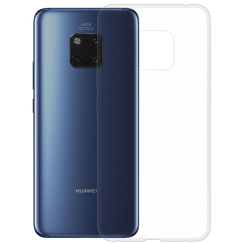 Gumené puzdro na Huawei Mate 20 Pro transparentné