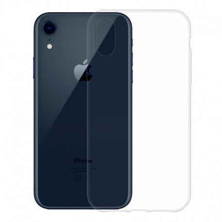 Gumové pouzdro pro Apple iPhone Xr transparentní