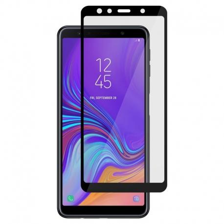 Ochranné sklo na Samsung Galaxy A7 čierne