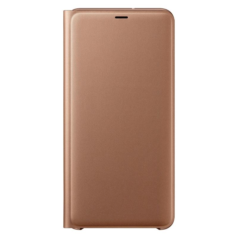 Samsung flipový kryt pro Galaxy A7 (2018) zlatý