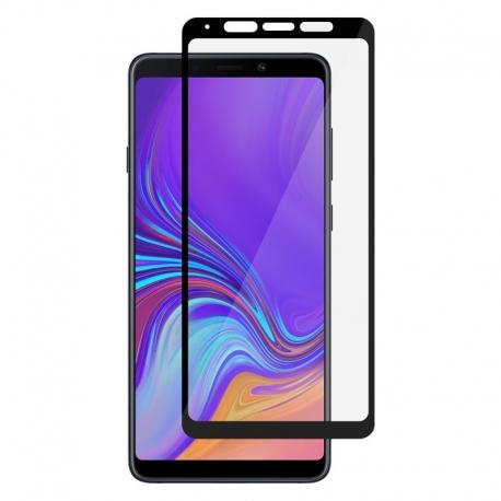 Ochranné sklo na Samsung Galaxy A9 čierne