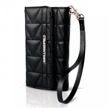 Karl Lagerfeld peňaženkové pouzdro Apple iPhone 6 černé