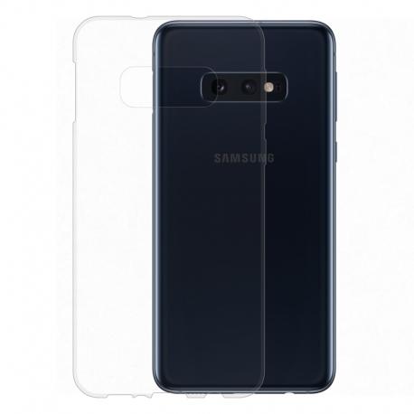 Gumené puzdro na Samsung Galaxy S10e transparentné
