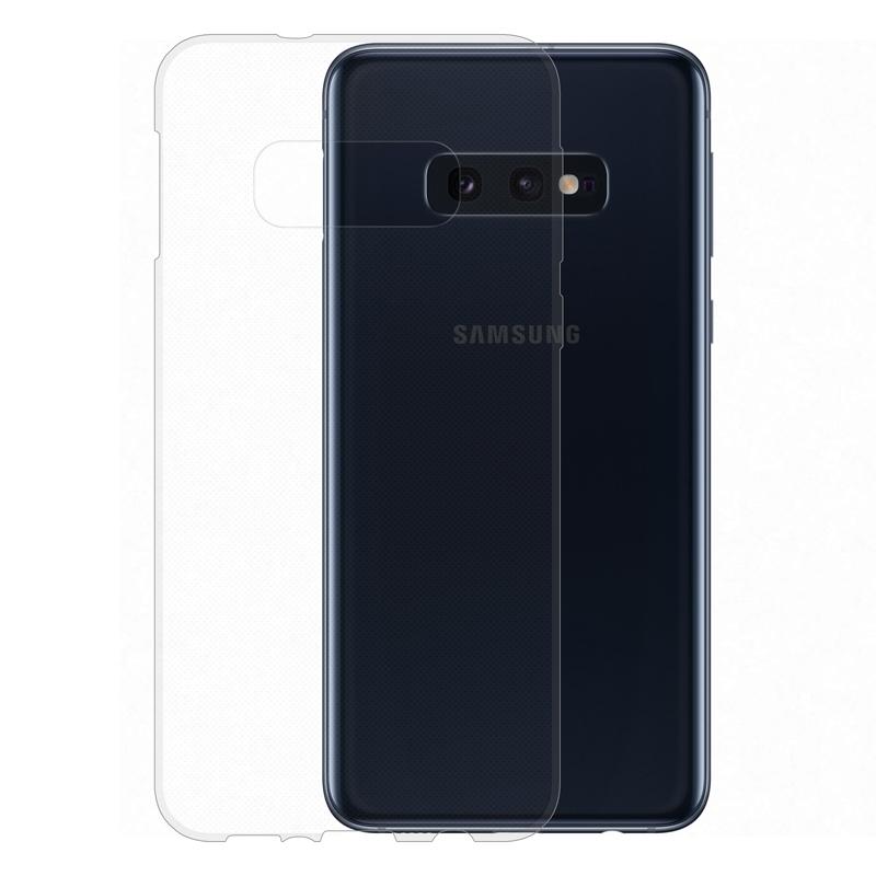 Gumové pouzdro Samsung Galaxy S10e transparentní