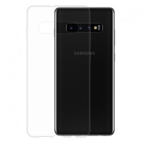 Gumené puzdro na Samsung Galaxy S10+ transparentné