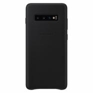 Samsung Leather Cover EF-VG975LJ kryt na Galaxy S10+ šedý