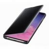 Samsung Clear View Cover EF-ZG975CB puzdro na Galaxy S10+ čierne