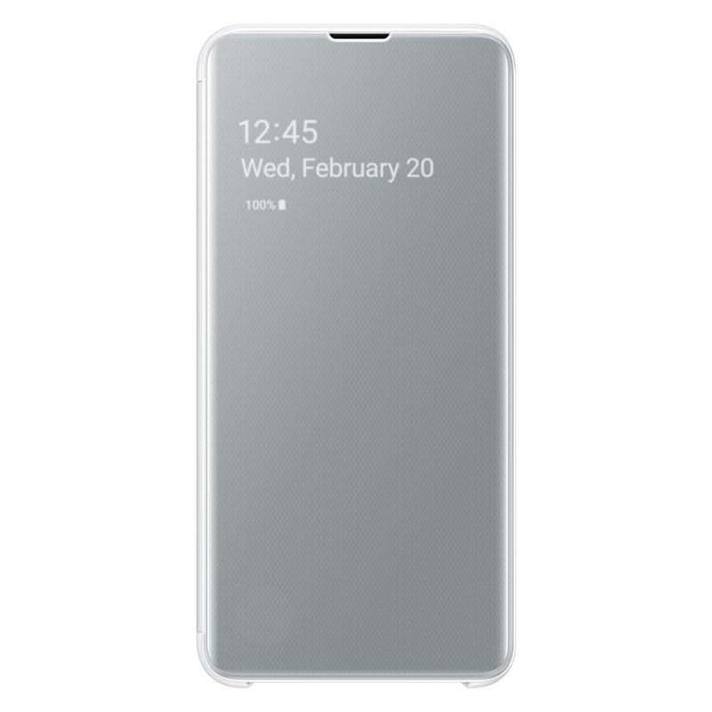 Samsung Clear View Cover pro Galaxy S10e bílý