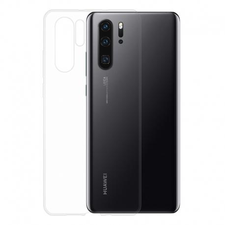 Gumené puzdro na Huawei P30 Pro transparentné