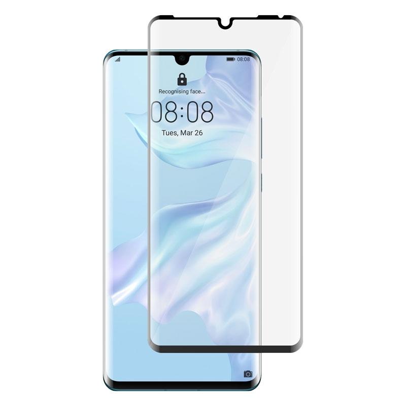 Ochranné sklo na Huawei P30 Pro čierne
