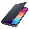 Samsung Flip Cover EF-WA505PB kryt na Galaxy A50 čierny