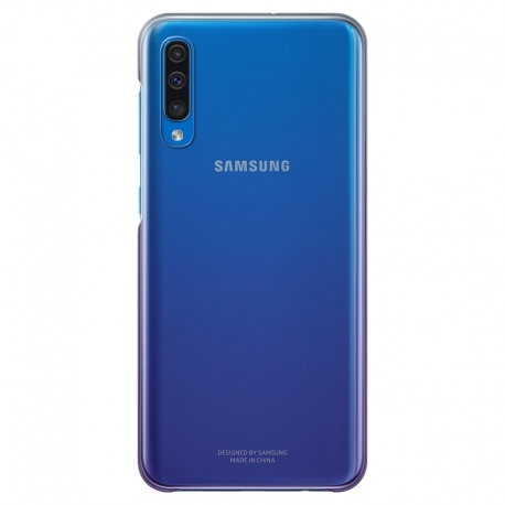 Samsung gradation Cover obal na Galaxy A50 fialový